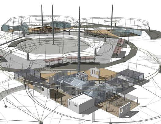 蓝图」,除包含装置艺术及公共建筑之外也擅长规划