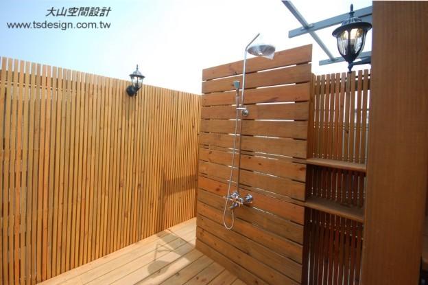 木格栅景墙
